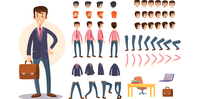 Character Animations Animation Services Telco Communication